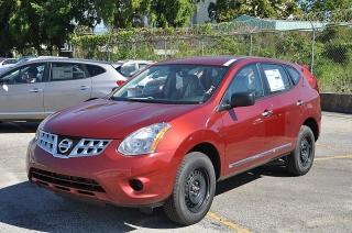 Nissan Rogue S Rojo 2013