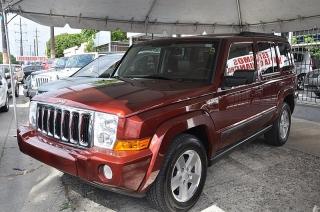 Jeep Commander Sport Rojo Vino 2007