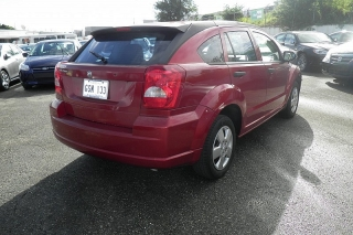 Dodge Caliber Rojo Vino 2007