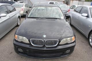 BMW 3 Series 330i Negro 2003