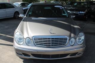 Mercedes-Benz E-Class 3.5l Dorado 2006