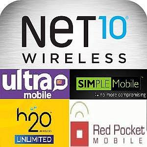 Chip Net10, H2O, RedPocket, AirVoice, SimpleMobile, UltraMobile