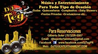 disc jockey, musica, luces para fiestas en Barceloneta por DJ Teg Entertainment