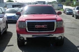 GMC Sierra 2500 Pickup Slt Rojo 2008