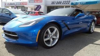 Chevrolet Corvette Stingray 2lt Azul 2014