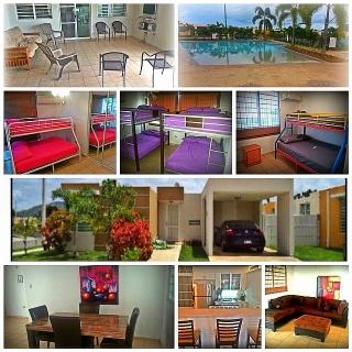 Casa De Verano en Cabo Rojo con Piscina 14 personas!!!!