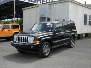 Jeep Commander Sport Negro 2007