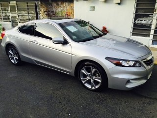 HONDA ACCOD COUPE V6 EX-L 2012 STANDARD PIEL SUNROOF $20,995