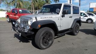 Jeep Wrangler Rubicon Plateado 2007