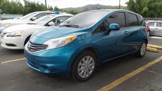 Nissan Versa Note S Azul 2014