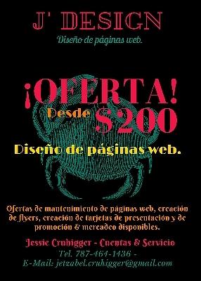 Creación de páginas web - Publicidad - Flyers - Mercadeo