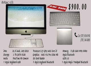 Venta de Computadora iMac