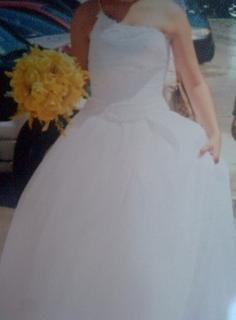 Traje de bodas o quinceañera