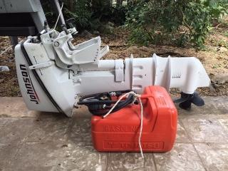 Motor Outboard Johnson 15 hp