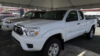 Toyota Tacoma Extended Cab Pickup Blanco 2015