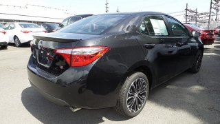 Toyota Corolla S Negro 2015