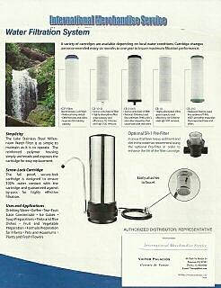 Filtros para el Agua, y Kitchen Set