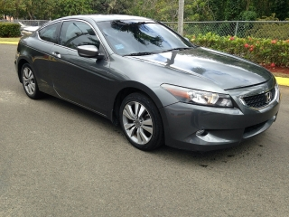 Honda Accord EX 2008 coupe (2 puertas) 4 cil, sunroof, charcoal gray